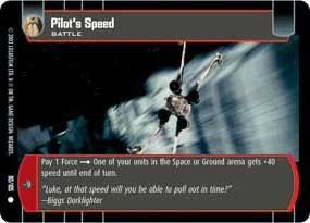 #90 Pilot's Speed