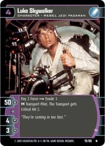 #76 Luke Skywalker (G)