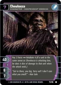 #73 Chewbacca (D)