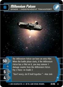 #23 Millennium Falcon (B)