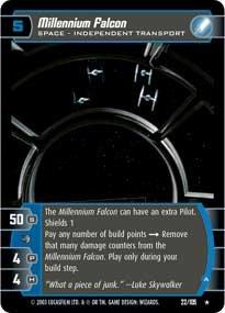 #22 Millennium Falcon (A)