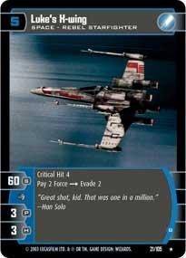 #21 Luke's X-Wing (B)