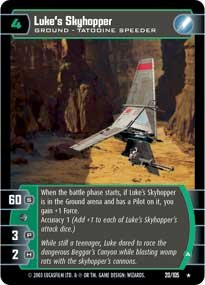 #20 Luke's Skyhopper (A)
