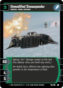 #104 Unmodified Snowspeeder