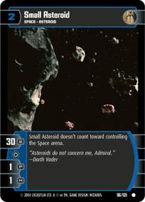 #96 Small Asteroid