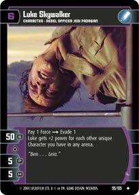 #55 Luke Skywalker (L)