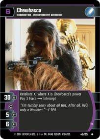 #42 Chewbacca (H) (RaS)