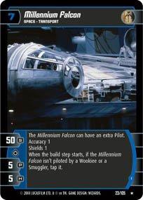 #23 Millennium Falcon (I) (RaS)
