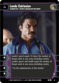 #19 Lando Calrissian (G) (RaS)