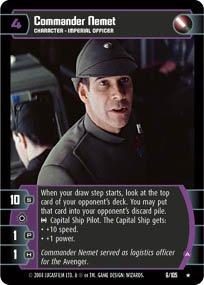 #6 Commander Nemet (A) (RaS)