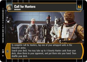 #4 Call For Hunters (RaS)