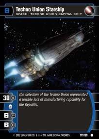 #177 Techno Union Starship AOTC