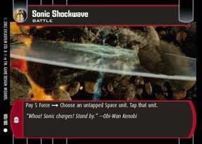 #169 Sonic Shockwave AOTC