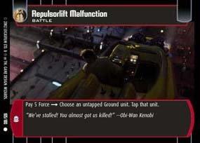 #165 Repulsorlift Malfunction AOTC