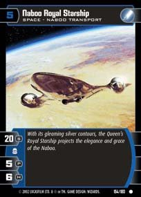 #154 Naboo Royal Starship AOTC