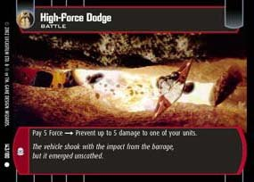 #143 High Force Dodge AOTC