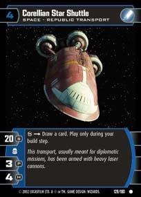 #129 Corellian Star Shuttle AOTC
