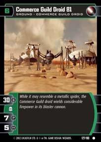 #127 Commerce Guild Droid 81 AOTC