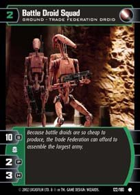 #122 Battle Droid Squad AOTC
