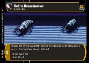 #109 Subtle Assassination AOTC