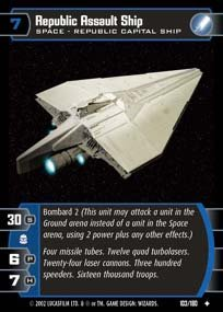 #103 Republic Assault Ship AOTC