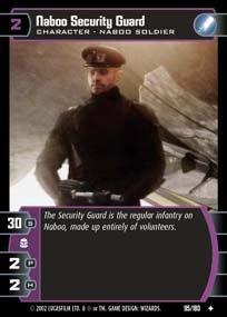 #095 Naboo Security Guard AOTC