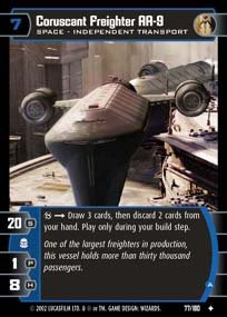 #077 Coruscant Freighter AA-9 AOTC