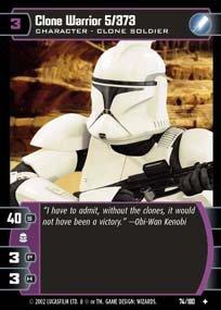 #074 Clone Warrior 5/373 AOTC