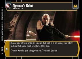 #051 Tyranus's Edict AOTC