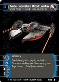 #089 Trade Federation Droid Bomber JG