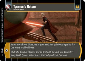 #075 Tyranus's Return JG