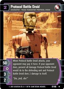 #067 Protocol Battle Droid JG