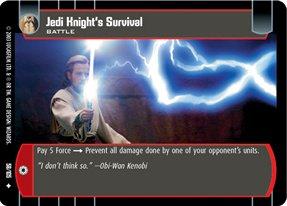 #058 Jedi Knight's Survival JG