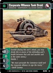 #050 Corporate Alliance Tank Droid JG