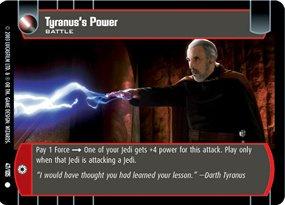 #047 Tyranus's Power JG