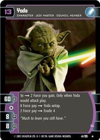 #041 Yoda (D) Star Wars TCG JG