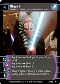 #032 Shaak Ti (B) Star Wars TCG JG