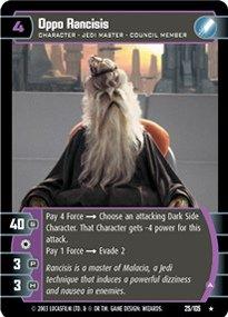 #025 Oppo Rancisis (A) Star Wars TCG JG