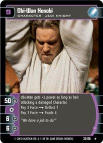 #023 Obi-Wan Kenobi (I) Star Wars TCG JG