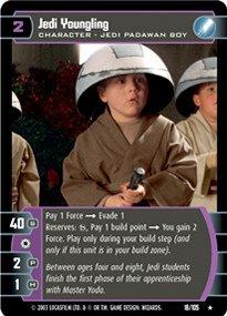 #018 Jedi Youngling Star Wars TCG JG
