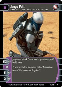 #016 Jango Fett (G) Star Wars TCG JG