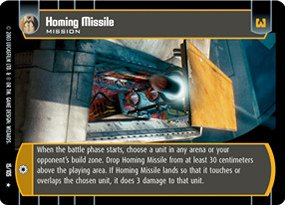 #015 Homing Missile Star Wars TCG JG