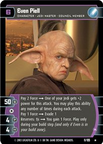 #011 Even Piell (A) Star Wars TCG JG