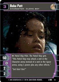 #004 Boba Fett (B) Star Wars TCG JG