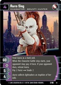 #003 Aurra Sing (B) Star Wars TCG JG