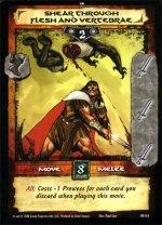 Shear Through Flesh and Vertebrae (R) Conan CCG