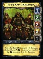 Khitai Warlord (R) Conan CCG