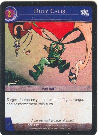Duty Calls FOIL DCL-257 (C) DC Legends VS System TCG