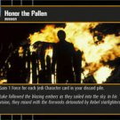 #18 Honor the Fallen (RotJ rare) Star Wars TCG