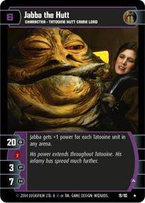 #19 Jabba the Hutt (A) (RotJ rare) Star Wars TCG